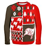 Tampa Bay Buccaneers Busy Block Ugly Sweater Large