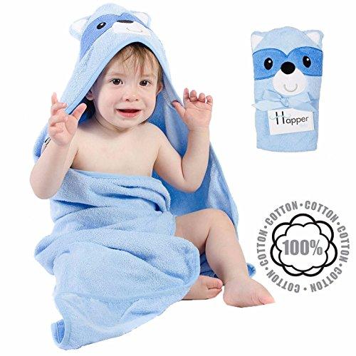 kid boys hooded beach towel - 4