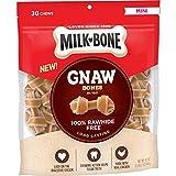 Milk-Bone Gnaw Bones Knotted Bones Dog Chew Treats, Chicken, Mini Treats, 19.1 Ounces, Rawhide Free