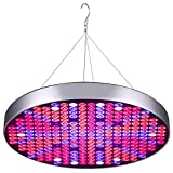 Cheap LED Grow Light Bulb 50W UFO Growing Lamp for Indoor Plants 250 LEDs Red Blue UV IR White Full Spectrum Plant Lights Panel for Hydroponics Greenhouse Seedling Veg and Flower by Venoya