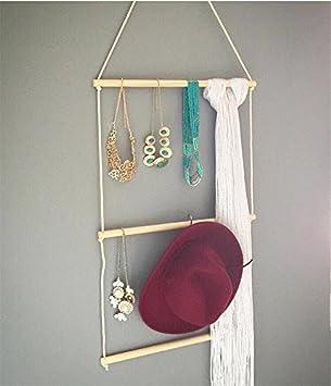 GreenSun(TM) - Perchero de madera decorado con estilo ...