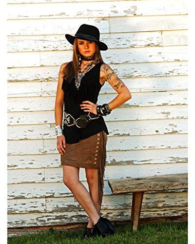 Tasha Polizzi Women's Valley Skirt Brown Small by Tasha Polizzi