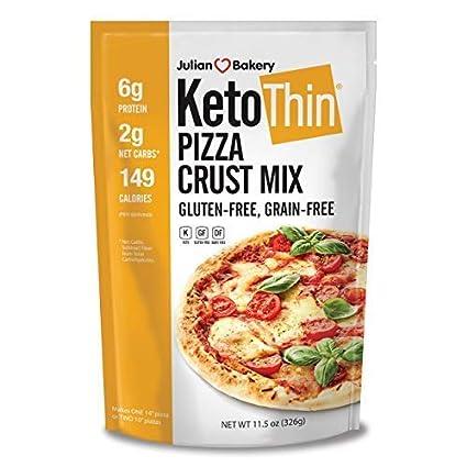 Keto - Mezcla de corteza de pizza fina (sin pegamento) (hace ...