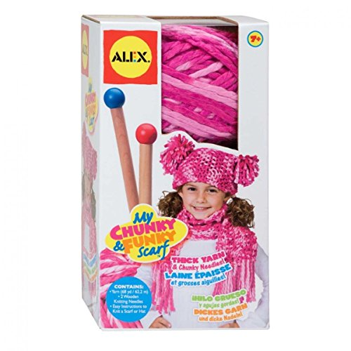 - ALEX Toys Craft My Chunky and Funky Scarf