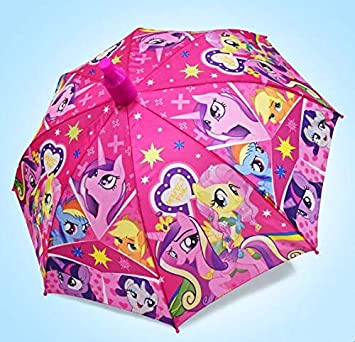 BAIHONG Paraguas de Dibujos Animados Princesa Escuela ...