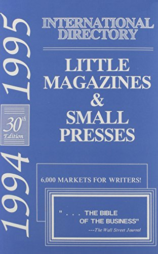 International Directory of Little Magazines and Small Presses, 30th Ed, 1994-1995 (International Directory of Little Mag