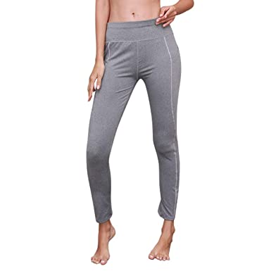 Firally - Pantalones de Yoga para Mujer, Lisos, Deportivos ...