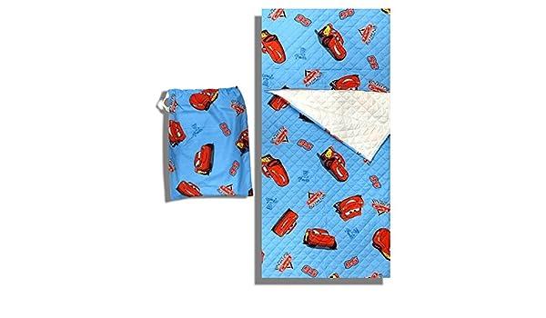 Juego Guardería Disney Cars Azul Saco Dormir + Bolsa guardería - 2 - 6 años: Amazon.es: Bebé