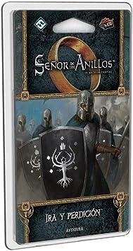 Fantasy Flight Games-El Señor de los Anillos LCG-Ira y perdición, Color (MEC78ES): Amazon.es: Juguetes y juegos