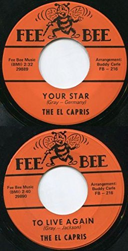 The Capris - Your Star/to Live Again - Zortam Music