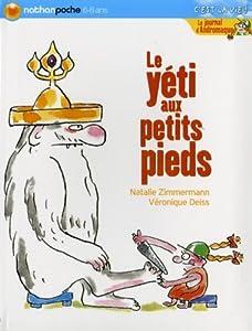 """Afficher """"Le Journal d'Andromaque<br /> Le yéti aux petits pieds"""""""