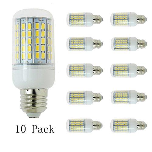 10 PCS 220V E27 15W Blanc Froid Led ampoule SMD 5730 6000K Ampoules intérieures