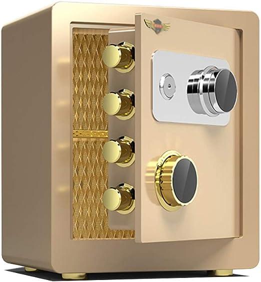 HPLL Caja fuerte electrónica Cajas Fuertes, Contraseña Mecánica Fuerte Anti-sensacional Anti-perforación Del Gabinete de Seguridad de Bloqueo Mecánico Cajas Fuertes Caja de Gran Capacidad Invisible: Amazon.es: Hogar