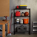 Amazon Basics 4-Shelf Shelving Storage Unit on