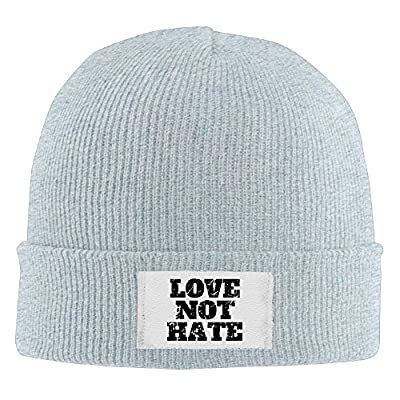 Winter LOVE NOT HATE Beanie Knit Hat