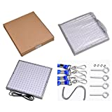 Yescom 225 LED Grow Light Panel 14W Lamp Blue Red