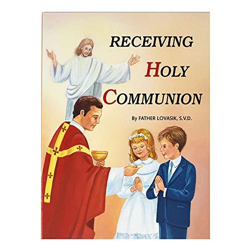 [해외]미국 선물 성 요셉 사진 책 받는 거룩한 친교-10pk / US Gifts St. Joseph Picture Book - Receiving Holy Communion - 10pk