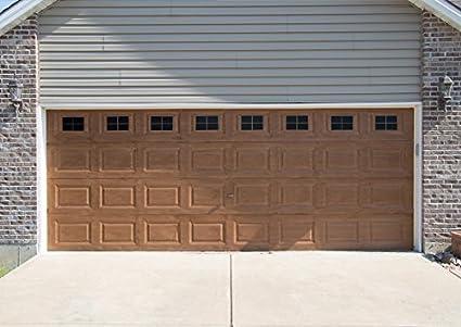 Amazoncom Decorative Magnetic Garage Door Window Panes Black 2