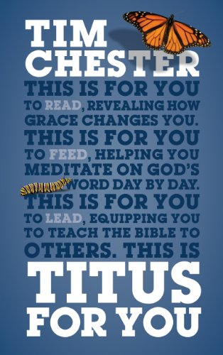 Titus For You: For reading, for feeding, for leading (God's Word For You) cover