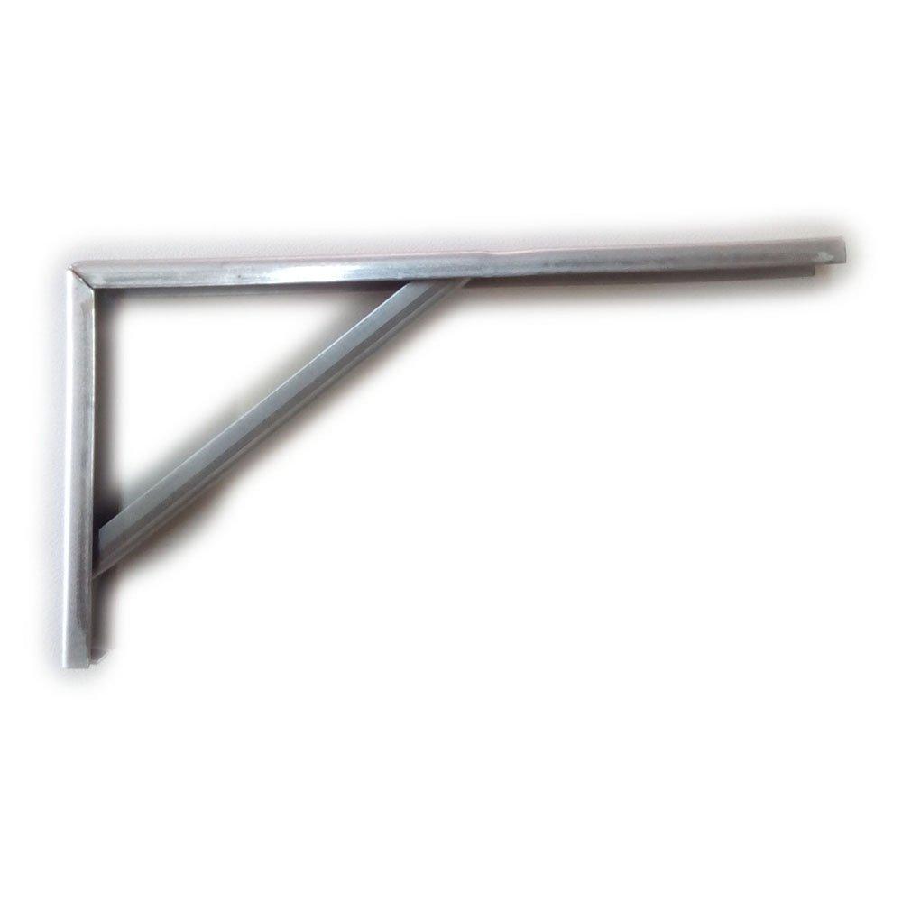 taglia unica metallizzato Bolis Italia robusta shelf-brackets 40/cm zincate montato