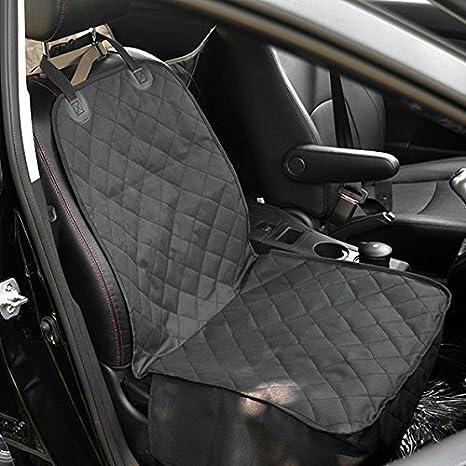 ubagoo Premium Deluxe 2 en 1 Pet Protector de asiento Perro Coche Asiento delantero de caja