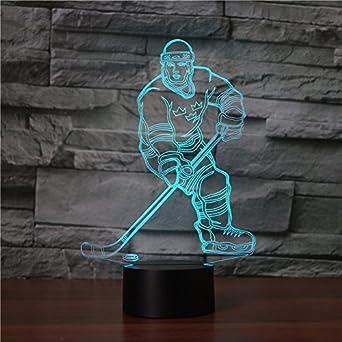 Ahat Romantische 3D Led Illusion Tisch Schreibtisch Deko Lampe 7 Farben  ändern Nacht Licht Für Schlafzimmer