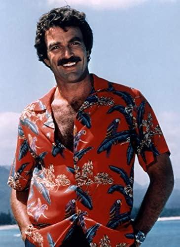 Paradise Found Camicia Hawaiana Originale Disegni Differenti Made in Hawaii Tom Selleck Magnum