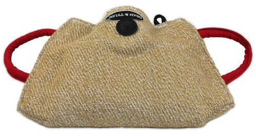 Dean and Tyler Young Dog Bite Builder with 3-Handles, Jute