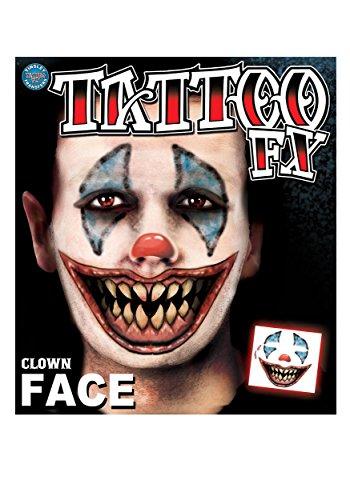 Clown Tattoo - 1