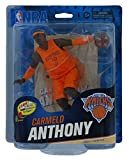 NBA Series 23 Carmelo Anthony Orange Christmas Uniform Collector Level Action Figure