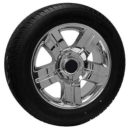 Chevy Truck Wheels >> Amazon Com 20 Inch Chrome Chevy Truck Wheels Rims Tires Fits