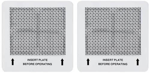 2 Ozone Plate for Nature's Air, Lightning Air, Better Living, Healthy Living, Zen Living and Spring Air Purifiers -