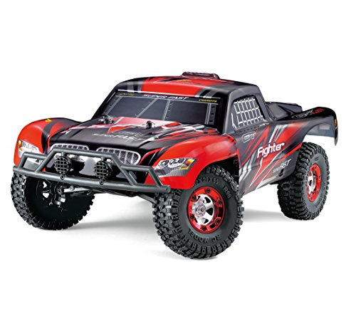 KELIWOW 1/12 Scale 4WD RC Short-Course Truck with 25MPH RC (10 Nitro Gas Car)