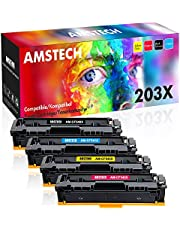 Amstech Kompatibel Toner Cartridage Replacement für HP 203A 203X Toner