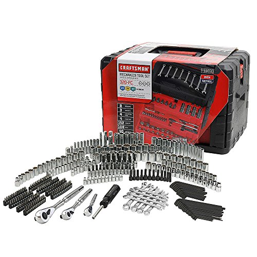 Craftsman 320-Piece Mechanic's Tool Set (Craftsman Tool Box Set)