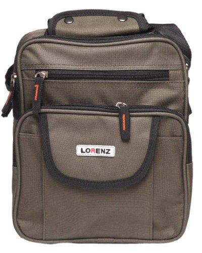 hombro Caqui mujer Bolso para Lorenz Negro al Verde negro Ew7CRxqg