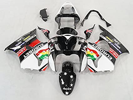 Amazon.com: Moto Onfire ABS Injection Plastic Black with ...