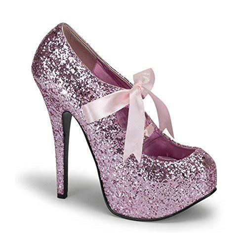 Glitzer Pumps rosa Pink