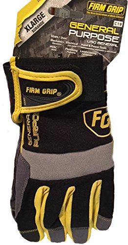 Firm Grip Gloves (Firm Grip All Purpose Work Gloves- Xlarge)