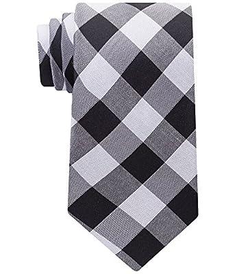 Calvin Klein Men's Modern Picnic Check Tie