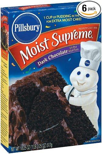 Pillsbury German Chocolate Cake Mix