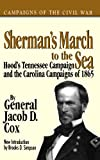 img - for Sherman's March To The Sea (Campaigns of the Civil War) book / textbook / text book