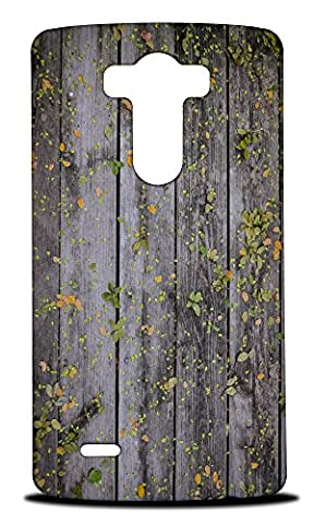 Foxercase Designs Cool Wood (Not Real Wood) #1 Hard Back Case Cover for LG G3 (Real Wood Cover For Lg G3)