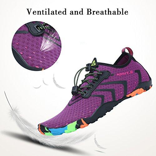 La Acuático Violeta Nadada Resaca Descalzo Shoes Saguaro Playa Para Aqua Corrugado Yoga Calcetines Skin De BzqWgwtp