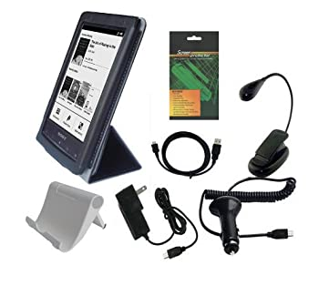 iShoppingdeals - Premium Accessory Bundle Combo for Sony PRS-T2 eReader