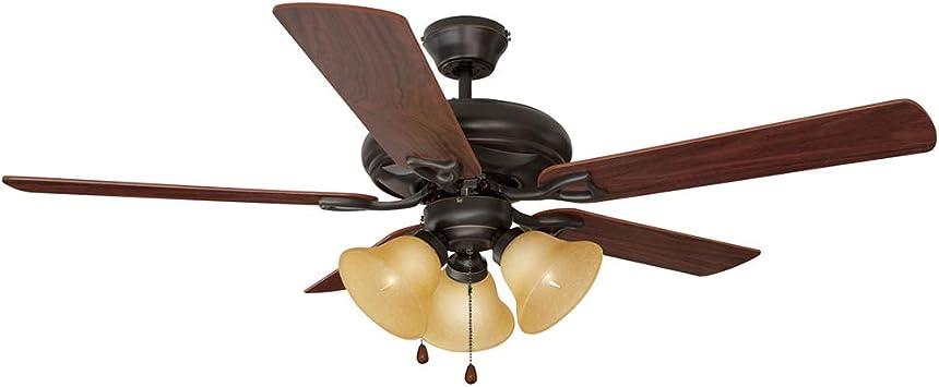 Casa de diseño Bristol – Lámpara de ventilador de techo: Amazon.es ...