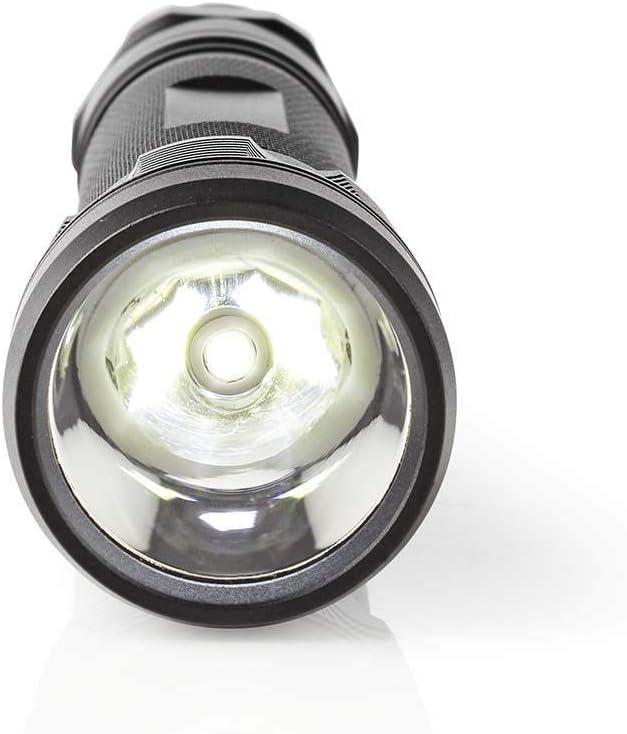 500 LM 10 W IPX7 Linterna LED NEDIS Negro