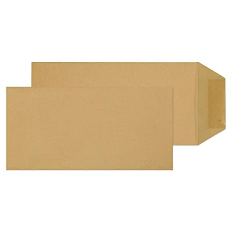 Pakowanie i wysyłka 200 x DL 220mm x 110mm Ivory Plain Opaque Wedding Invitation 120gsm Envelopes