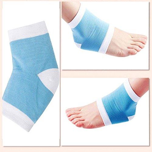 Cracked Heel Treatment - Heel Socks - Cracked Heels - Gel Socks - Moisturizing Socks - Callus Feet - 2 Pairs - Ballotte by Ballotte (Image #5)