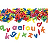 Colorations Self-Adhesive Lowercase Foam Letters - Set of 380 (Item # LSTICK)